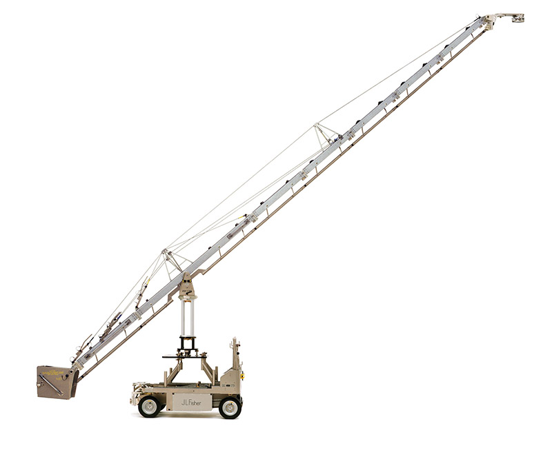 Fisher Jib Model 23 Elevated